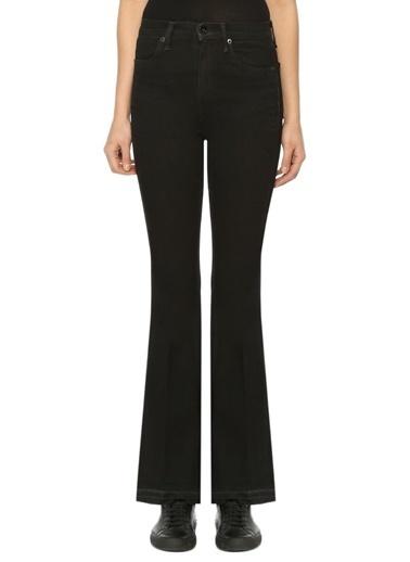 Rag&Bone Yüksek Bel Bol Paça Jean Pantolon  Siyah